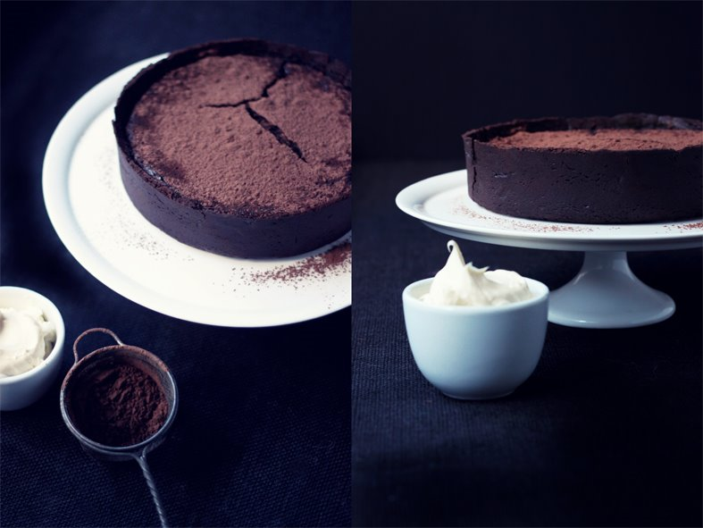 Chocolate Truffle cake Duo